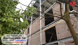 Bí quyết 3 bước xây tường nhà khung thép tiền chế không bị nứt.