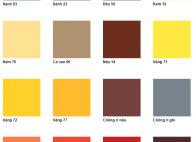 Các loại sơn dùng cho kết cấu thép