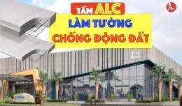 Tấm ALC làm vỏ cho công trình nhà khung thép!