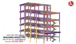 Khung nhà thép có cấu tạo như thế nào?