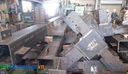 Nhà lắp ghép khung thép thường dùng các loại thép hình thế nào?