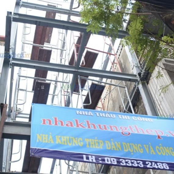 Nhà thép tiền chế Lạc Trung