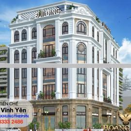 Khách sạn Tân cổ điển Vĩnh Phúc