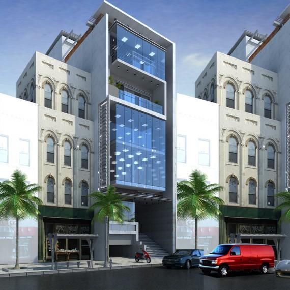 Building 8 tầng Hải Dương